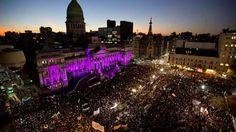Histórica marcha contra la violencia machista.Todo el país le dijo basta a los femicidios. Por primera vez se hizo una manifestación nacional contra los crímenes de género. Fue para reclamar que se cumpla la ley. (Reuters)MIRÁ TODA LA FOTOGALERÍA EN HD