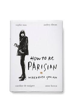 Anthropologie EU How to be Parisian