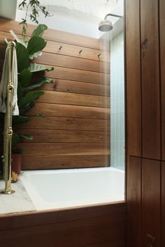 shapes and shingle - How to squeeze a luxury bathroom into 4.8 square...