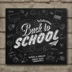 Wall Art Chalkboard Print Education by TimelessMemoryPrints, $25.00
