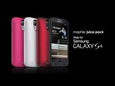 Introducing the mophie juice pack made for Samsung Galaxy S4