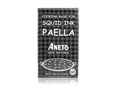 Aneto Squid Ink Paella Base for Sale | Marx Pantry $12