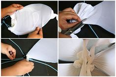 Primitive, but gives you a start! The sky is the limit!   How to Make Fairy Wings: 11 steps (with pictures) - wikiHow
