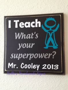 Teacher gift I Teach what's your by KelliesHandmadeSigns on Etsy, $17.00