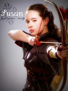 Susan Pevensie (Anna Popplewell) Chronicles of Narnia She looks cool. Narnia Movies, Narnia 3, Susan From Narnia, Edmund Narnia, Narnia Cast, Susan Pevensie, Cair Paravel, Anna Popplewell, Prince Caspian