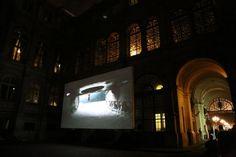 Video presentation at Hotel De Ville for Nuit Blanche in Paris France