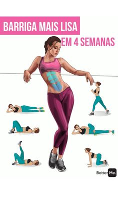 Fitness Workouts, Gym Workout Videos, Gym Workout For Beginners, Fitness Workout For Women, Fun Workouts, Body Fitness, Health Fitness, Fitness At Home, Morning Ab Workouts