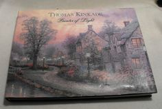 "SALE: Thomas Kinkade,""PAINTER of LIGHT"" Coffee Table Book.    Hardcover. Free Shipping.. $45.00, via Etsy."