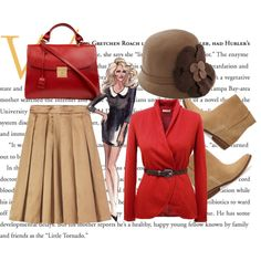 A fashion look from January 2014 featuring red top, pleated skirts and short boots. Browse and shop related looks. Marc Jacobs, Evening Dresses, Cashmere, Bride, Shoe Bag, Polyvore, Mango, Toast, Stuff To Buy