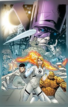 Fantastic Four by Billy Tan