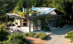 Salt Spring Island Bread Co. - handmade organic artisan baked goods are produced at the island's original wood-fired brick oven bakery (at her home). Used Wood Burning Stove, Salt Spring Island Bc, Maker Studios, Rest House, Elements Of Nature, Modern Ranch, Rammed Earth, Good Environment