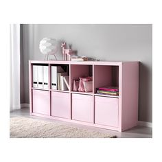 Love this for bedroom storage of toys and/or clothing. Install shelving above to display trophies and keepsakes.