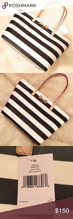 "Kate Spade Margareta This listing is for a brand new, never used Kate spade Margareta tote. Zipper closure. This handbag has two slide pockets and one zipper pocket. 11.3""x15.6""x6.2"". kate spade Bags Totes"