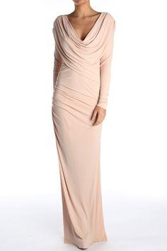 GC724: THE TRINITY MAXI DRESS | GorgeousCouture.com