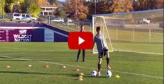 Youth Soccer Dribbling Drills