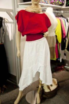 Women's White Layer Skirt Now In Stock!