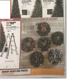 Home Depot Black Friday 2019 Ads and Deals Browse the Home Depot Black Friday 2019 ad scan and the complete product by product sales listing. Black Friday News, Black Friday 2019, Home Depot Coupons, Pre Lit Wreath, Christmas Wreaths, Ads, Holiday Decor, Check