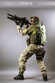 Combat Soldier STOCK VI by PhelanDavion on DeviantArt
