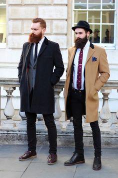 Men's Camel Overcoat, Navy Blazer, White Dress Shirt, Black Skinny Jeans