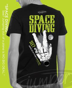 512a60a8 Space Skydiving, from planes to outerspace. Skydivers are always pushing  the limits to the sport. Jumper Sportswear