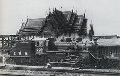 Siam Locomotive 1935 - info about Thailand and Koh Samui: http://islandinfokohsamui.com/