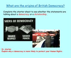 A detailed double lesson on the history and origins of British democracy lesson with detailed PowerPoint, well differentiated resources, worksheets and cli. Primary History, Teaching History, Tes Resources, Teaching Resources, British Values, Differentiation, Citizenship, Explain Why, Education