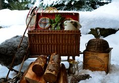 Picnic Pleasures...A Winter Picnic! Embrace Winter - UrbanCountryStyle