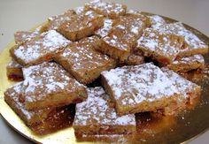 A wonderful dessert that's just the perfect balance between sweet decadence and wholesome, old-fashioned goodness. Not too sweet, not to tangy. Candied Orange Slices, Orange Candy, Cookie Bars, Bar Cookies, Recipe Boards, Orange Recipes, Dessert Bars, Popular Recipes, Recipe Using