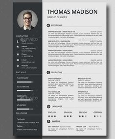 There are a lot of resources on internet for Resume Templates and Examples. I have tried to compile a good set of internet sites that you can get some help: Resume Templates: R… Modern Resume Template, Resume Template Free, Professional Resume Template, Resume Format Download, Cv Format, Professional Cv, Templates Free, Cv Photoshop, Photoshop Tutorial