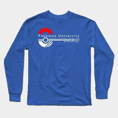 Pokemon University - College Wear Long Sleeve T-Shirt