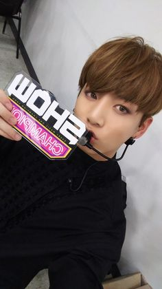 Jungkook ❤ SHOWCHAMPION Selfie #BTS #방탄소년단