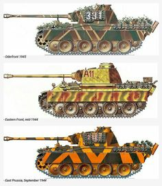 Panzer Mark V - Panther Tank Army Vehicles, Armored Vehicles, Panzer Iii, Military Art, Military History, Der Panther, Mg 34, Tank Armor, Camouflage Patterns