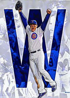 Chicago Cubs History, Chicago Cubs Fans, Chicago Cubs Baseball, Baseball Art, Major League Baseball Teams, Mlb Teams, Chicago Cubs Pictures, Cubs Players, Cubs Win