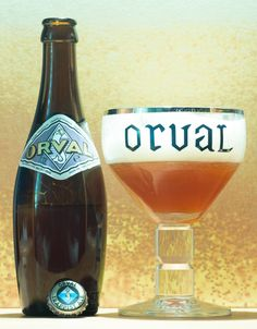 Orval - Orval (bière trappiste - Abbaye N.D. d'Orval - Belgique)