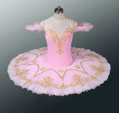 This stunning stage costume can be used for many roles: Sleeping beauty, Sugar Plum Fairy, Pink Fairy in Sleeping Beauty, Coppelia, Dulcinea, Dryads and many other roles. This tutu has been created us