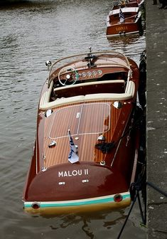 1964 Riva Ariston Waverunner.