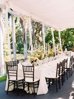 Gorgeous table: http://www.stylemepretty.com/2015/05/11/tropical-refined-fort-lauderdale-wedding/   Photography: Perry Vaile - http://www.perryvaile.com/