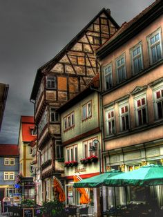 Bad Langensalza Beautiful Architecture, Hdr, Great Places, The Good Place, Places To Visit, Wanderlust, Germany, Europe, Mansions