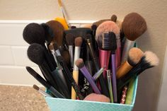 How to clean your makeup brushes-Do this at least once a month: 3