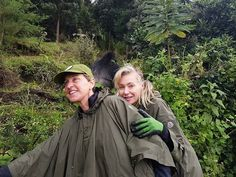 Mountain Gorilla Conservation Efforts Laudable From Virunga Community Programs Ellen Degeneres And Portia, Ellen And Portia, Travel And Tours Agency, Portia De Rossi, Mountain Gorilla, East Africa, Go Green, Conservation, Comedians