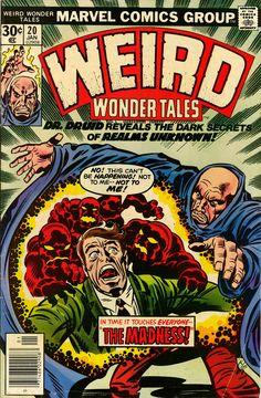 Weird Wonder Tales #20, January 1977, cover by Jack Kirby and Joe Sinnott