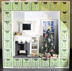 Kitty ja Kat Miniatures: The (Mini) joulukalenteri