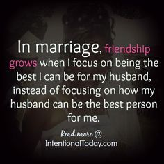 focusing on being the best wife- the things I can control