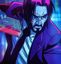 Who's seeing John Wick 3 this weekend and who has already seen it? Fighting with a pencil, a book or a horse. Keanu Reeves calls these… John Wick Hd, John Wick Movie, Keanu Reeves John Wick, Keanu Charles Reeves, Baba Yaga, Keanu Reaves, I Wallpaper, Aesthetic Art, Comic Art