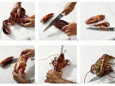 Gekochten Hummer zerteilen ist ein Rezept mit frischen Zutaten aus der Kategorie Kochen. Probieren Sie dieses und weitere Rezepte von EAT SMARTER!