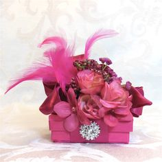 Gift Boxes, Wedding Favors, Box,  Boxes, Christmas Gift Ideas, Birthday Gift Box, Gift Ideas, Wedding Party Gifts, Prewrapped Gift Boxes. $8.00, via Etsy.