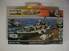 G.I.JOE GI JOE KRE-O THUNDERWAVE JET BOAT MISB MIB FREE SHIPPING!!   #Hasbro