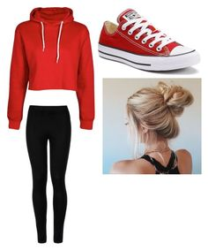 """Bum #5"" by madison-kohut on Polyvore featuring Wolford and Converse"
