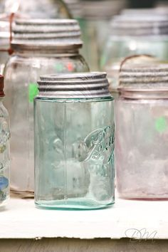 Love Ball jars, got my first one with my Dad at an auction. Bought a box sight unseen, it was filled with these awesome glass cachets, a gold mine of memories!!