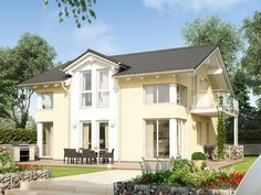 Unser EVOLUTION 143 V3.  #Haus #Fertighaus #Hausbau #Design #Architektur #Einfamilienhaus #House #BienZenker